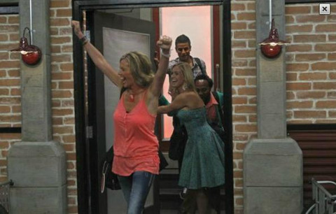 Big Brother 13 houseguests enter