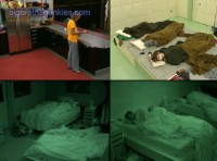 big brother houseguests still sleeping