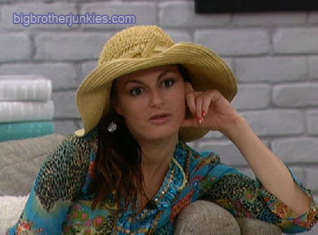 Big Brother 13 Rachel In Hat