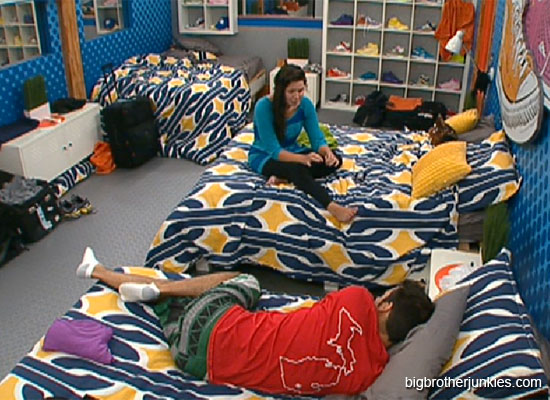dan and danielle talking big brother 14