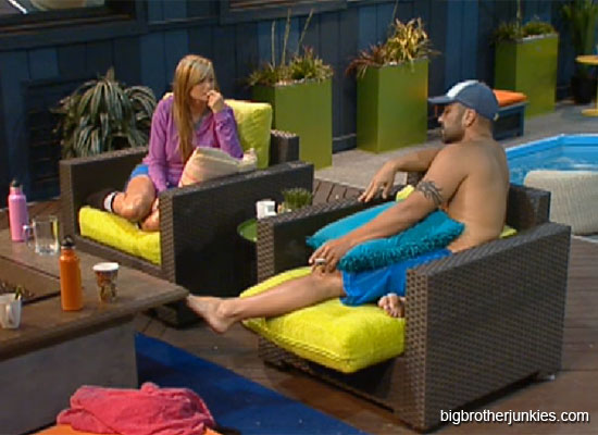 big brother 14 willie and kara scrambling