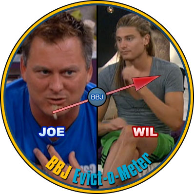 joe versus wil big brother 14