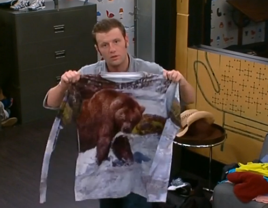 Will Judd be bringing his bear shirt back?