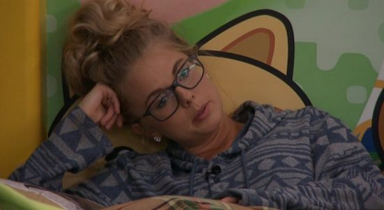 Nicole is already sulking over Corey being gone