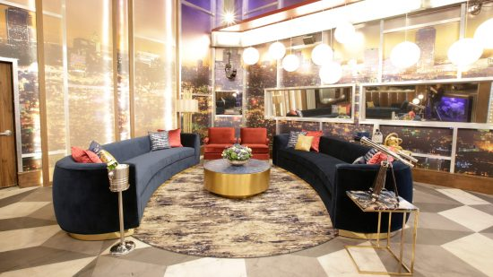 Celebrity Big Brother Living Room