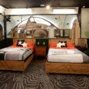 Celebrity Big Brother rodeo drive bedroom