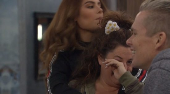 mari crying celebrity big brother
