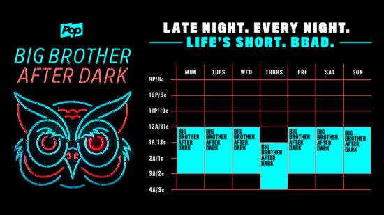 BBAD schedule